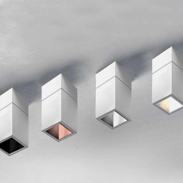 Aisha Cube - Faretto led cubo a plafone